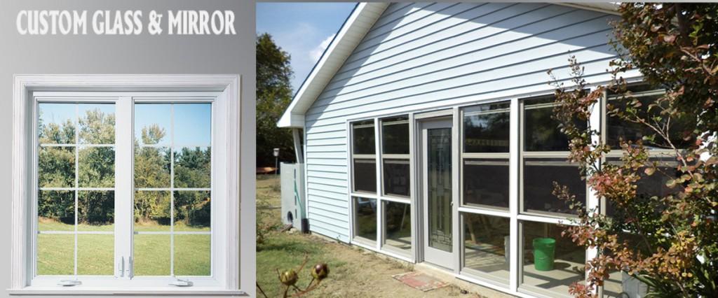 custom glass & mirror residental